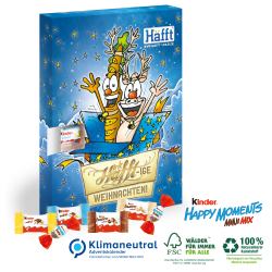 "Adventskalender kinder® ""Happy Moments"""