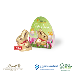 Lindt Goldhase, 10 g Osterboten