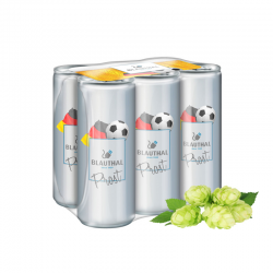 250 ml Bier - Fullbody transparent - Sixpack
