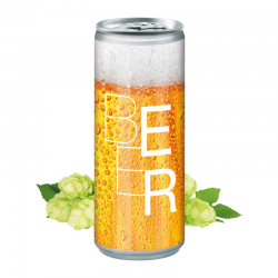 250 ml Bier - Body Label (Exportware, pfandfrei)