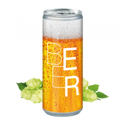 250 ml Bier - Eco Label (Exportware, pfandfrei)